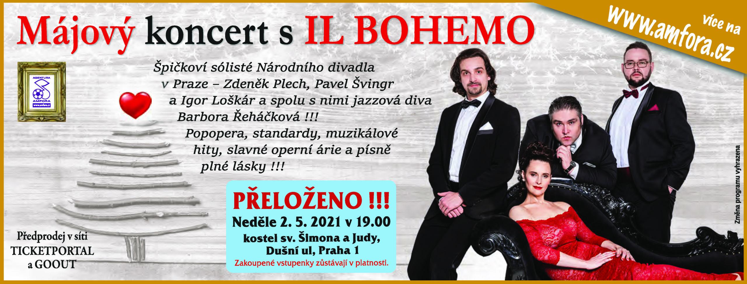 Il Bohemo Májový koncert